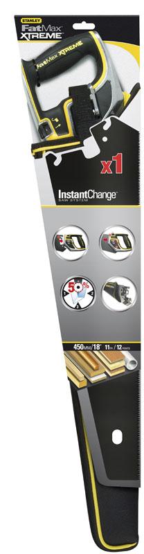 Stanley 20-256 FatMax® Xtreme™ InstantChange™ ΣΥΣΤΗΜΑ ΣΕΓΑΤΣΑΣ ΑΥΤΟΜΑΤΗΣ ΑΛΛΑΓΗΣ ΜΕ ΕΠΙΚΑΛΥΨΗ ΛΑΜΑΣ Blade Armor 550MM